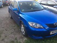 Mazda 3 no mot