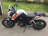 KTM Duke 125 **** price reduced Ono**** updated mileage low than initially thought