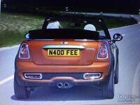 PERFECT NUMBER PLATE FOR FIONA, FEE ETC. N400 FEE FOR SALE ALL FEES INCLUDED. ON RETENTION CERT.