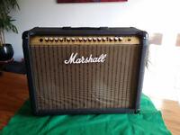 Marshall Valvestate VS102R 100W guitar amp combo with valve preamp