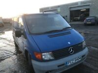 Mercedes Benz Vito 108cdi van parts available engine gearbox bumper bonnet wing radiator