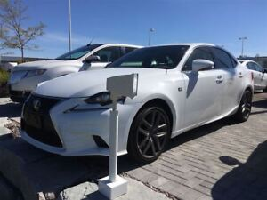 2016 Lexus IS 350 F Sport F SPORT PKG. AWD LEATHER, SUNROOF, GPS