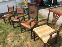 Vintage chairs. X4