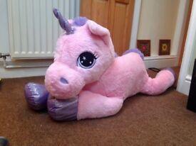 XL Unicorn Teddy
