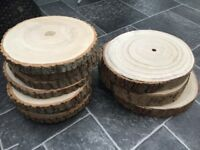 10 Wood/Log Slices - Wedding Table/Centrepieces