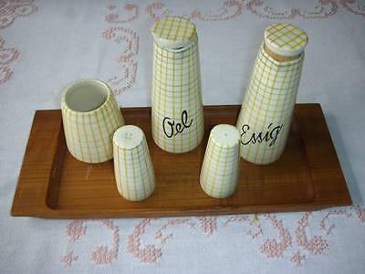 Schramberg - Salz- Pfefferstreuer,  Essig- und Ölbehälter