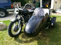 Motorcycle sidecar