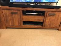 Next TV Unit, Table and Chairs, Shelves