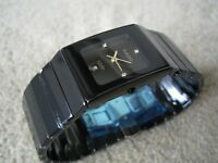 RADO CERAMICA Men's watch NEW**NOT Rolex Hublot Breitling Tag Heuer Omega Cartier Gucci Mont Blanc*