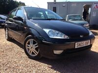 2005 FORD FOCUS ZETEC 1.6 MOT AUGUST 2017! ONLY £695!!