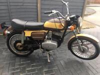 Motorbike CZ175 1976 Project !!!!!