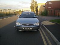 2007 FORD MONDEO ESTATE 1.8 LX 5dr SILVER MANUAL EXCELLENT CONDITION DRIVES SUPERB BARGAIN 1YR MOT