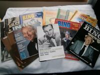 BING CROSBIE BOOK: BIOGRAPHY, THE EARLY YEARS - PLUS BING MAGAZINES - PLUS FRED ASTAIRE