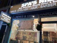 Barber, massage, beautician staff needed