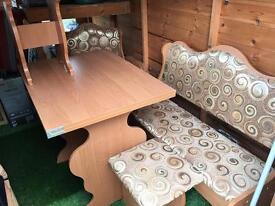 Corner kitchen table