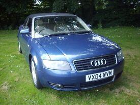 AUDI A4 2.4 V6 SPORT CABRIOLET