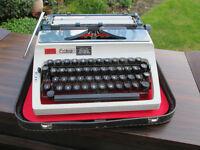 Portable Erika typewriter