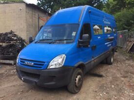 Iveco daily 65C18 lwb 6.5t twin axle 3.0d 2006-2012 blue indicator breaking