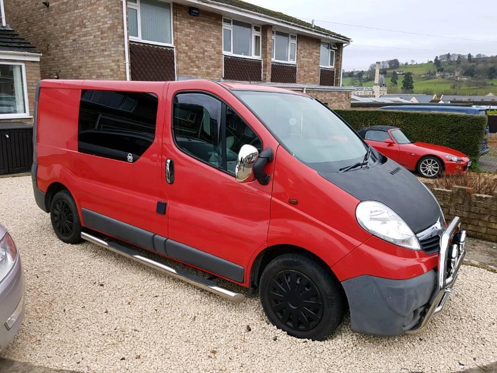 Vauxhall Vivaro Semi Camper Day Van