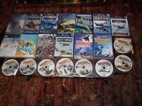 WORLD WAR & PLANES DVDs x41