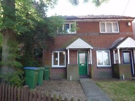 Recently refurbished two double bedroom unfurnished house with garden and parking