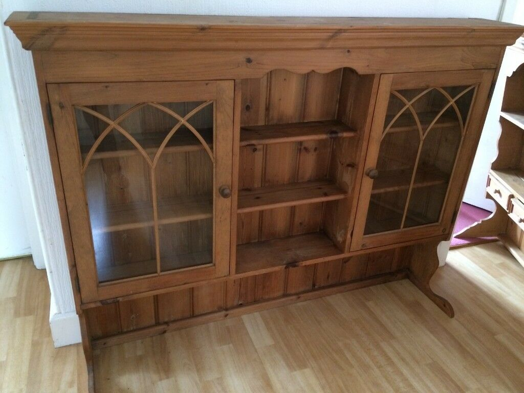 SOLID OLD PINE DRESSER TOP, VERY LARGE AND HEAVY, STUNNING@@ | in ...