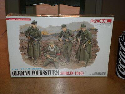 WW#2, German Volkssturm - (BERLIN 1945) Series, Plastic Model Kit, Scale 1/35