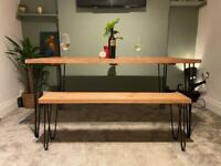 BRAND NEW: Rustic Dining Room Table