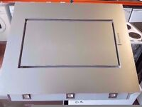 BAUMATIC Silver Hood 90cm Front LED Lights