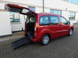 2011 61 Citroen Berlingo 1.6HDi Multispace VTR Wheelchair Accessible Vehicle ONLY 11,454 Miles