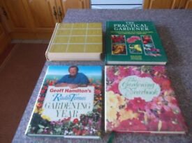 Four gardening books good condition