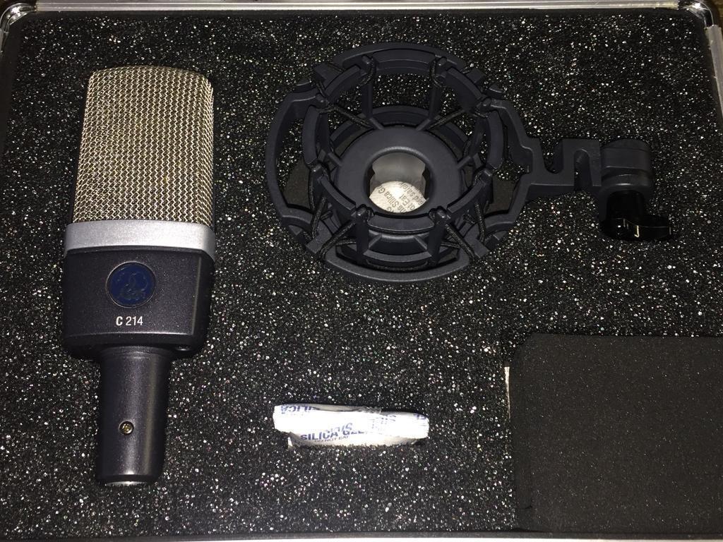 AKG C214 Condenser Microphone Mic