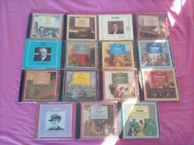 15 x Clasical CD Albums Job lot - THE GREAT COMPOSER'S SERIES