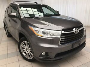 2014 Toyota Highlander XLE: 1 Owner, 4 New Tires.