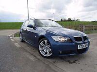 BMW 3 SERIES 2.0 320D M SPORT 5d 161 BHP 12 Month RAC Parts & Labour Warranty Years MOT