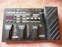 Roland Boss ME25 Guitar Multiple Effects Console