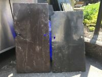 Welsh Slate Purple and Blue Reclaimed.. 12x22 12x24 etc