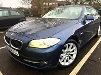 BMW 5 SERIES 520D 2012 62 PLATE AUTO SALOON 1 OWNER FROM NEW NOT AUDI A6, A4 OR MERCEDES E220