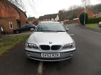 2002 Silver BMW For Sale