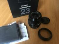 Fujinon XF 23mm f/2.0 WR Lens for Fuji X