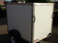 BOX TRAILER PROFESSIONALLY MADE ROLLER SHUTTER DOOR VGC