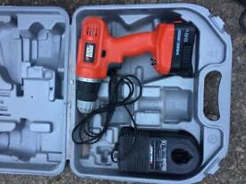 Black and decker 9.6v cordless drill