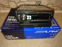 ALPINE CDE-9846R MP3 Car Radio
