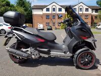 Mint condition Gilera Fuoco only 807 miles on clock!