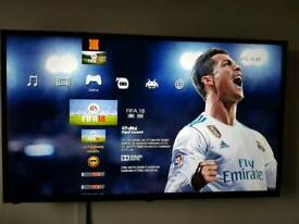Customised ps3 slim 120GB fully loaded Fifa, PES & NBA 18 see photos