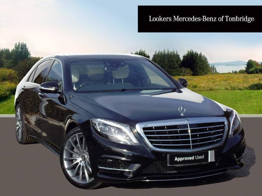 mercedes benz s class s 350 d l amg line executive premium black 2017 03 29 in tonbridge. Black Bedroom Furniture Sets. Home Design Ideas