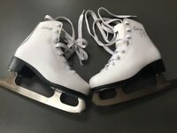 Figure /ice skating boots - size 1