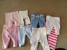Bundle of baby girl clothes. Size 0-3