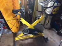 Stair master spin bike turbo trainer