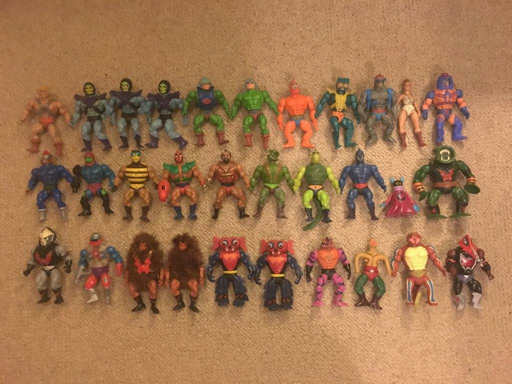 Masters of The Universe Action Figures (Mattell, 1984-1987)